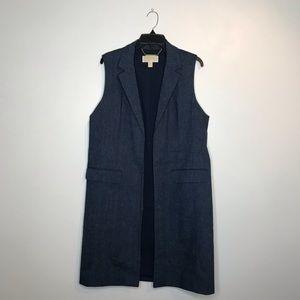 Michael Kors Long Blazer-Style Jacket